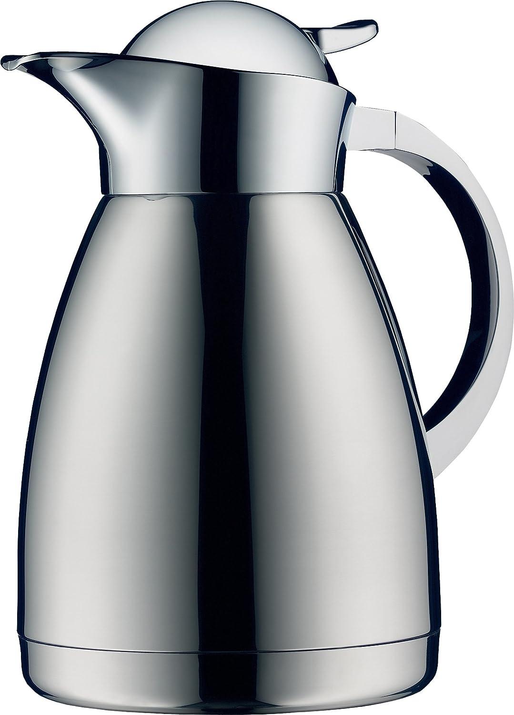 Alfi Albergo 1.0 Liter obere Therm Vacuum Insulated Carafe für heiß und Cold Beverages, Stainless Steel