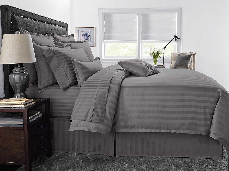 Wamsutta 400-Thread-Count 3-Piece Full//Queen Duvet Cover Set in White