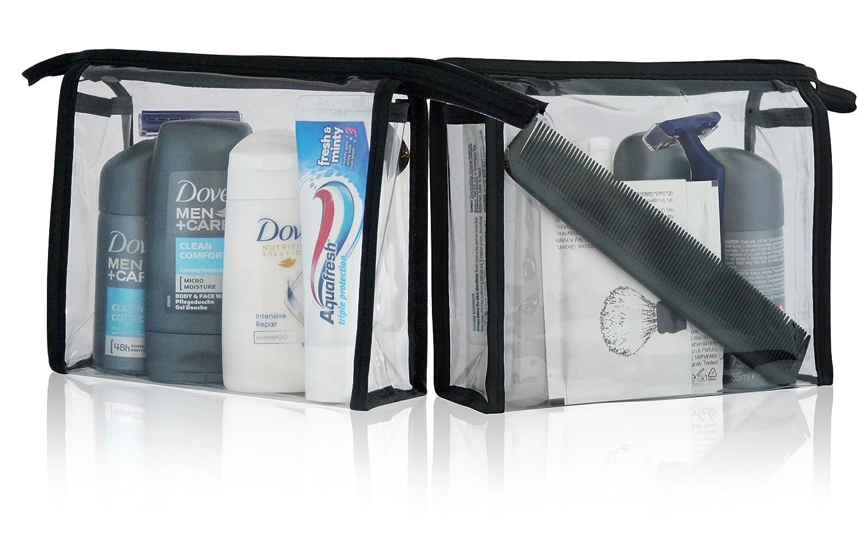 Dove - Juego de neceser de viaje para hombre, incluye bolsa de lavado, desodorante, champú, gel de ducha, pasta de dientes y espuma de afeitar, ...
