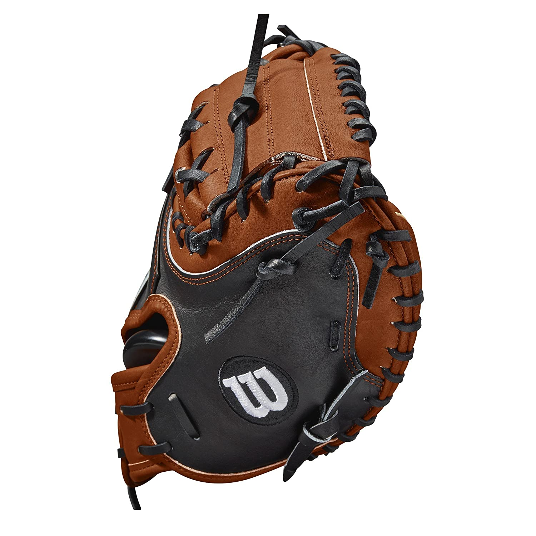 Wilson 2018 A2K M1 Catchers Right Hand Throw Mittens 33.5 Copper//Blonde