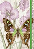 Lang Purple Swallowtail Classic Journal by Jane Shasky, 6 x 8 inches, 192 Ruled Pages (1009521)