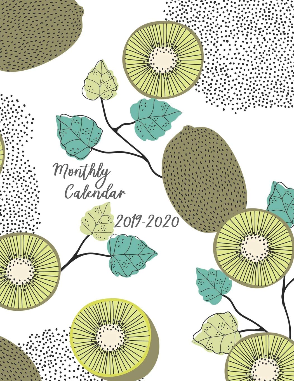 Monthly Calendar 2019 - 2020: 18 Month Academic Planner ...