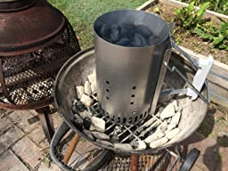 how to use a weber 7416 rapidfire chimney starter