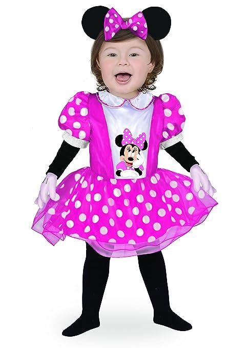 63fd60b6bdc9 Ciao- Baby Minnie Classic Disney Costume per Bambini, Rosa, 6-12 mesi