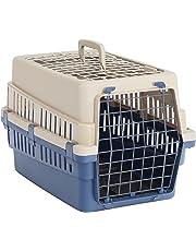 UWOP Tier-Transportbox Move, mit Metallgittertür