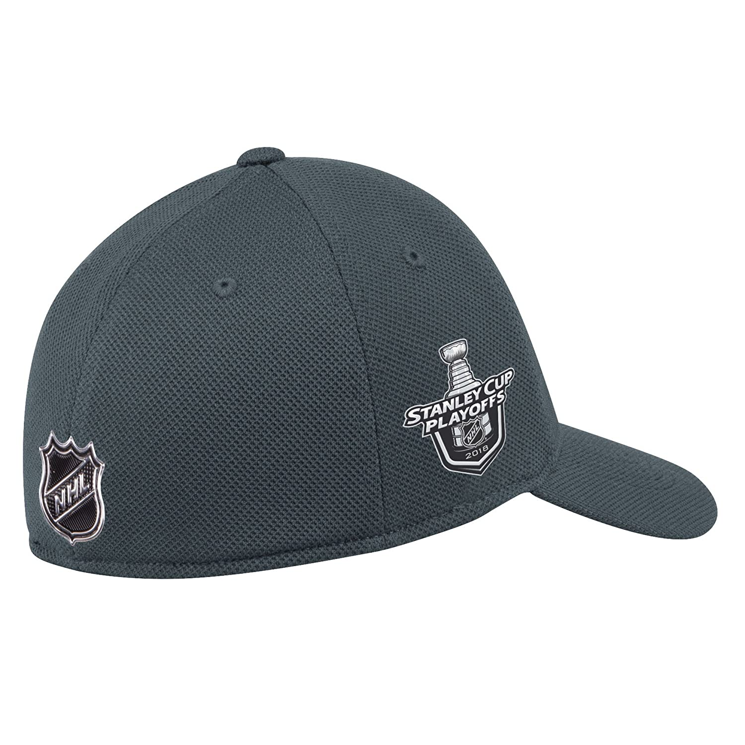 1fff18096f8681 ... clearance adidas vegas golden knights 2018 nhl stanley cup playoffs  flexfit slouch fitted hat s m baseball