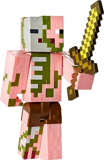 Mattel Dnh16 Minecraft Figure Zombie Pigman Amazon It Giochi E Giocattoli