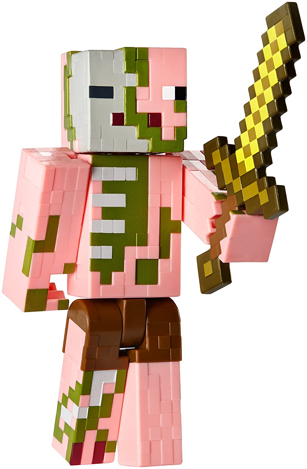 Minecraft series 2 zombie pigman with sword action figure - Zombie style minecraft ...