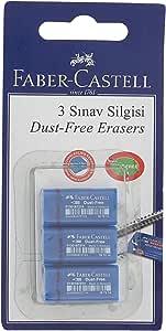 Faber-Castell 5500187214 F.C.Bls. 48 Sinav Silgisi 3'Lü