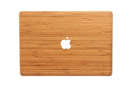 WOODWE Real Wood MacBook Skin Sticker Decal for Mac Air 13 inch | Model: A1237/A1304/A1369/A1466; Early 2008 – Early 2015 | Genuine & Natural Bamboo ...