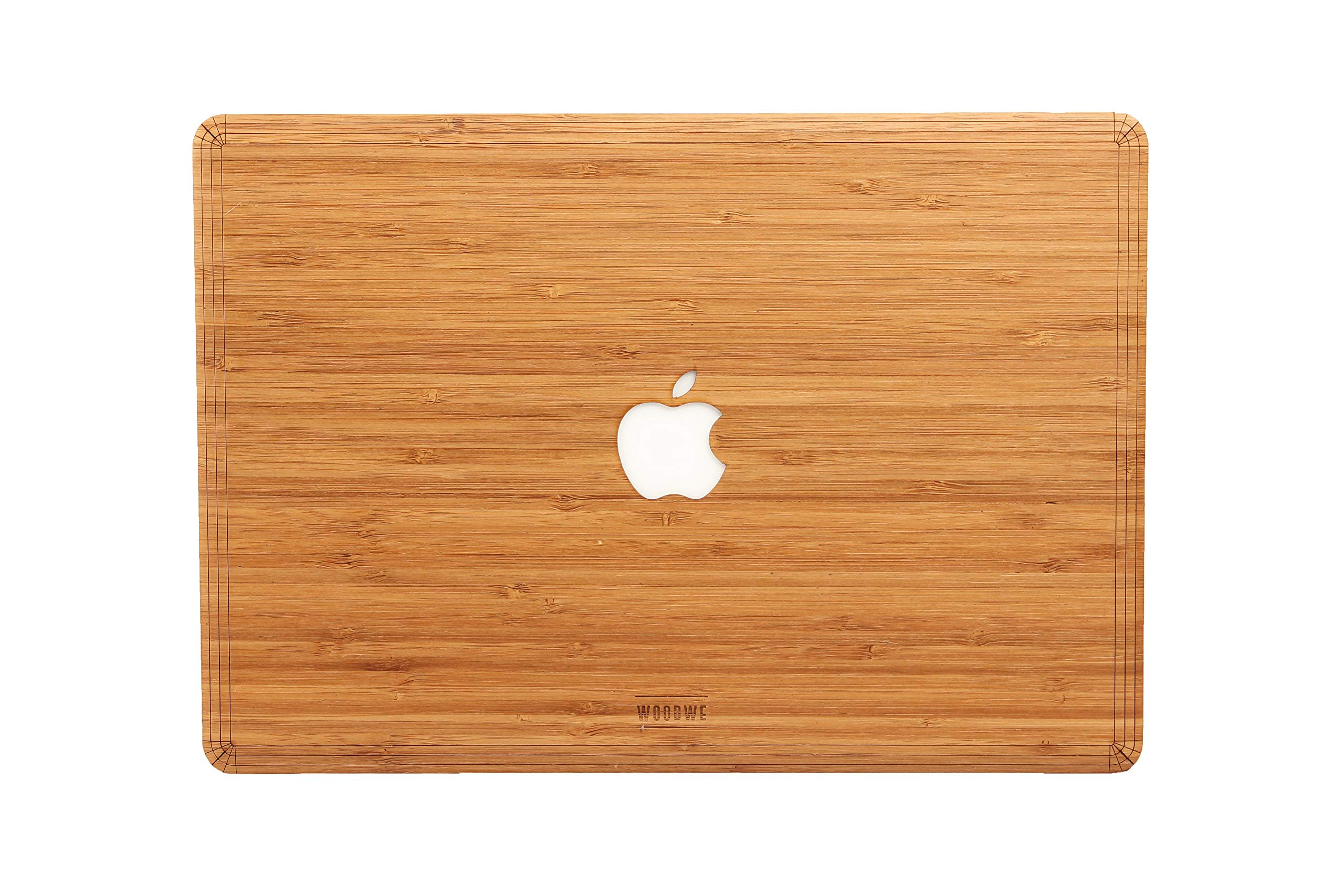 "WOODWE Real Wood Laptop Cover Skin for MacBook pro 13"" inch Retina Display 