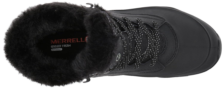 Merrell Women's Aurora 6 Ice Plus 11 Waterproof Snow Boot B018WFV52G 11 Plus B(M) US|Black d219c1