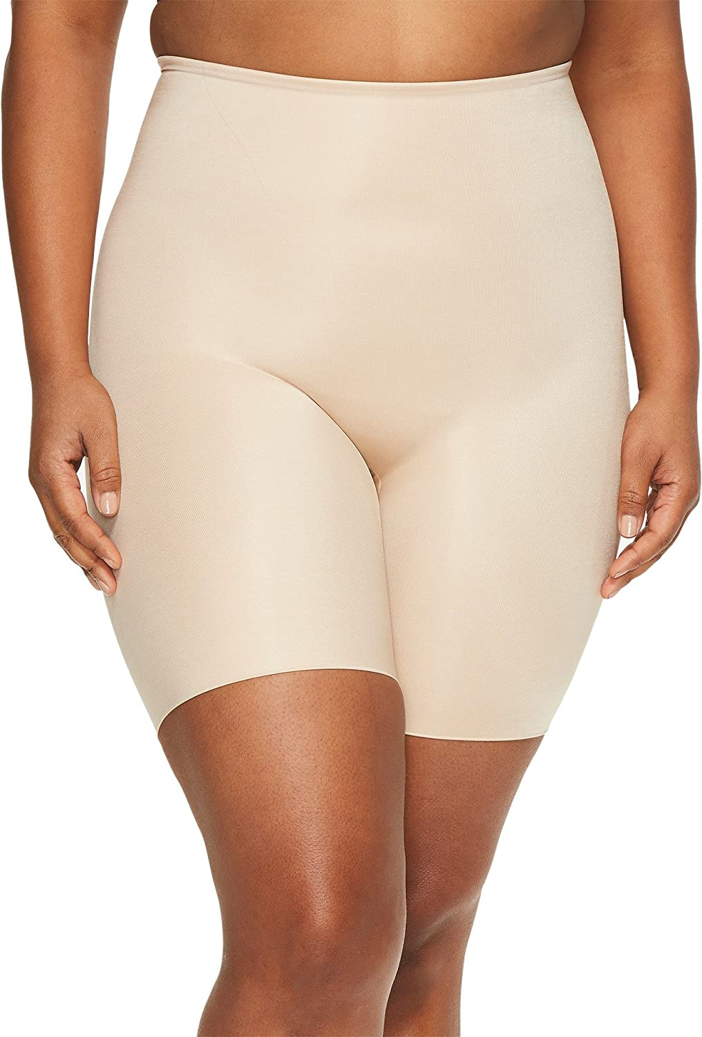 SPANX Womens Plus Size Power Conceal-Her Mid-Thigh Short