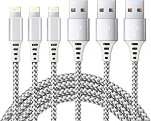 Apple Lightning Cable iPhone Charger Cable Apple MFi Certified iPhone Charger USB Lightning Cable Wire for iPhone 11 Pro MAX X XS XR 8 7 Plus SE iPad iPod car Cord Fast Accessories Chargers Cable
