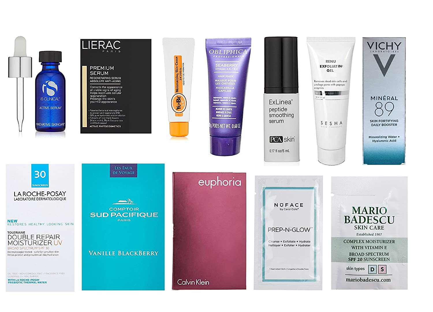 FREE NEW Skin Care Sample Box.