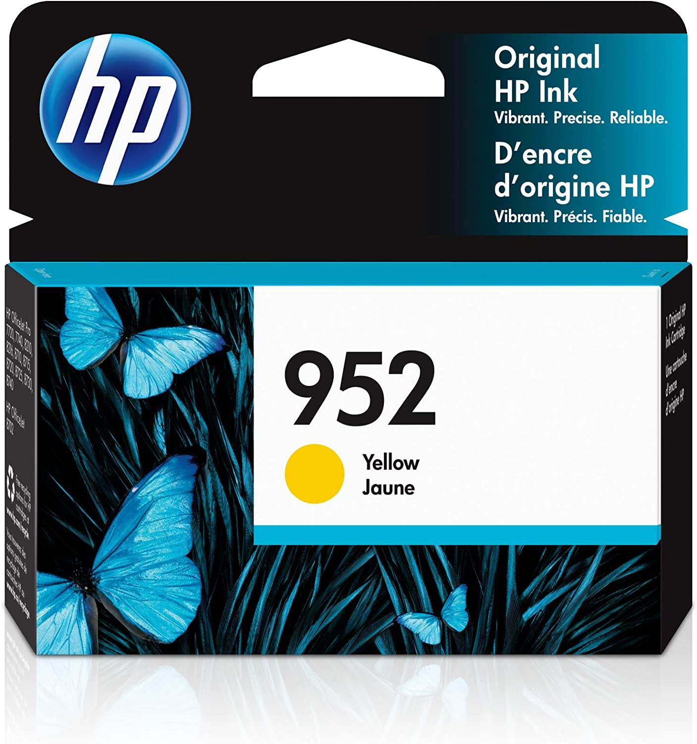HP 952 | Ink Cartridge | Yellow | L0S55AN