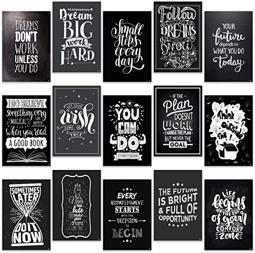com motivational posters for office room home classroom