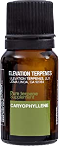 Elevation Terpenes β-caryophyllene Food Grade Natural Terpene 10 Milliliters (Produced in The USA)