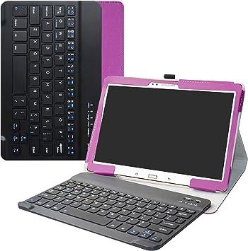 Labanema Samsung Galaxy Tab S 10.5 Teclado Funda, PU Estuche con Wireless Teclado Cover QWERTY para Samsung Galaxy Tab S 10.5 Pulgadas Tablet: Amazon.es: Electrónica