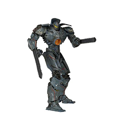 "NECA Series 2 Pacific Rim Battle Damaged Gipsy 7"" Deluxe Action Figure: Toys & Games"