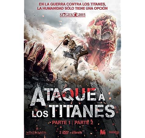 Ataque a los Titanes - Parte 1 y 2 [DVD]: Amazon.es: Animación, Animación: Cine y Series TV