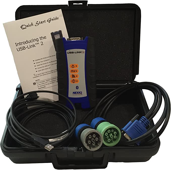 ISN OBDII Cable for Nexiq USB Link 2 with 12-Month Subscription to TruckFaultCodes