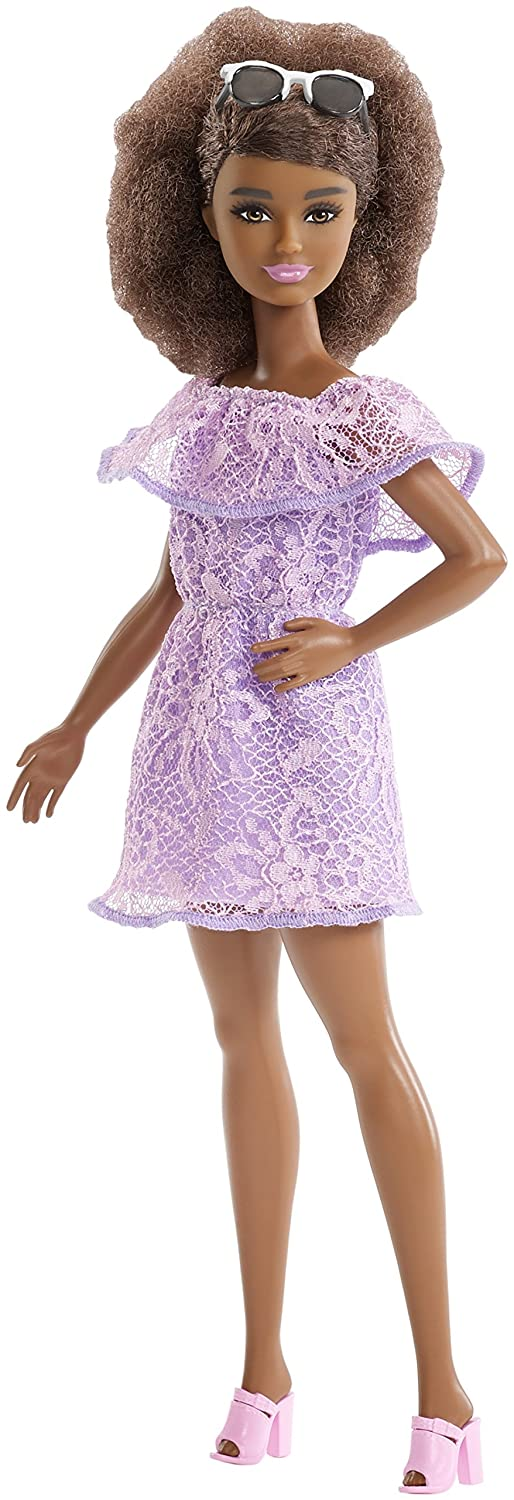 Barbie Fashionistas Living Lace Doll, Petite Mattel FJF53