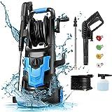 Electric Pressure Washer NUSIIRO, Power Washers High Powerful 1700W, Transformer Body Design, Self Assembled with Spray Gun,