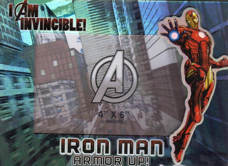 Marvel Avengers Assemble - Iron Man Armour up - Magnetic Picture Frame (10cm x 15cm) Newborn, Kid, Child, Children, Infant, Baby   B00LRD1VIE