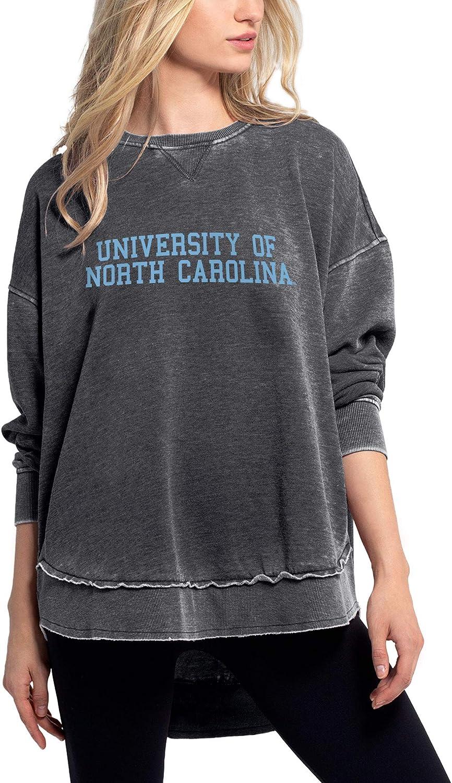 chicka-d NCAA womens Burnout Crew Sweatshirt