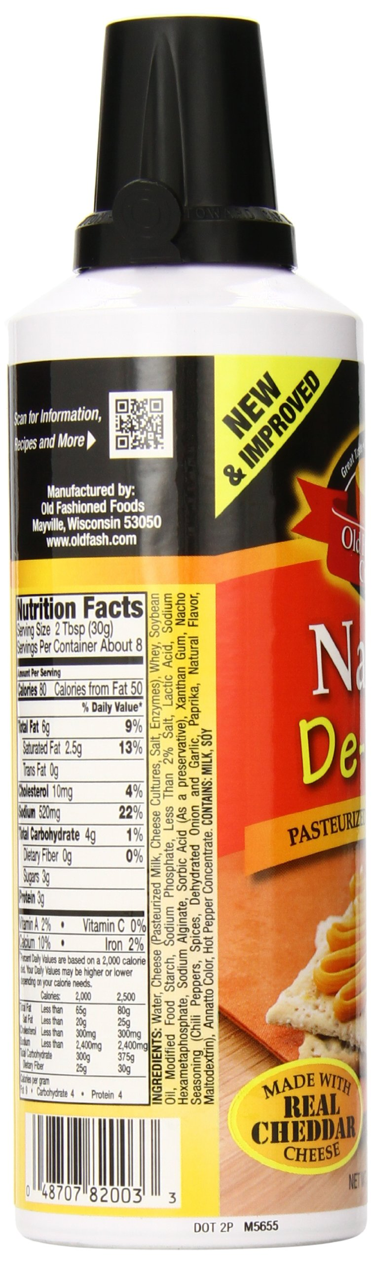 Old Fashioned Cheese Nacho De Lish Cheese Spread, 8 Ounce by Old Fashioned Cheese (Image #6)