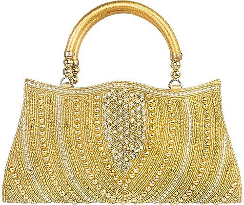 310c3fff845d Louise Belgium Designer Hand-held Bag for Women - Silver  Amazon.in ...