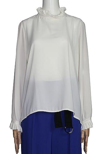 Kaos - Camisas - Asimétrico - Manga larga - para mujer