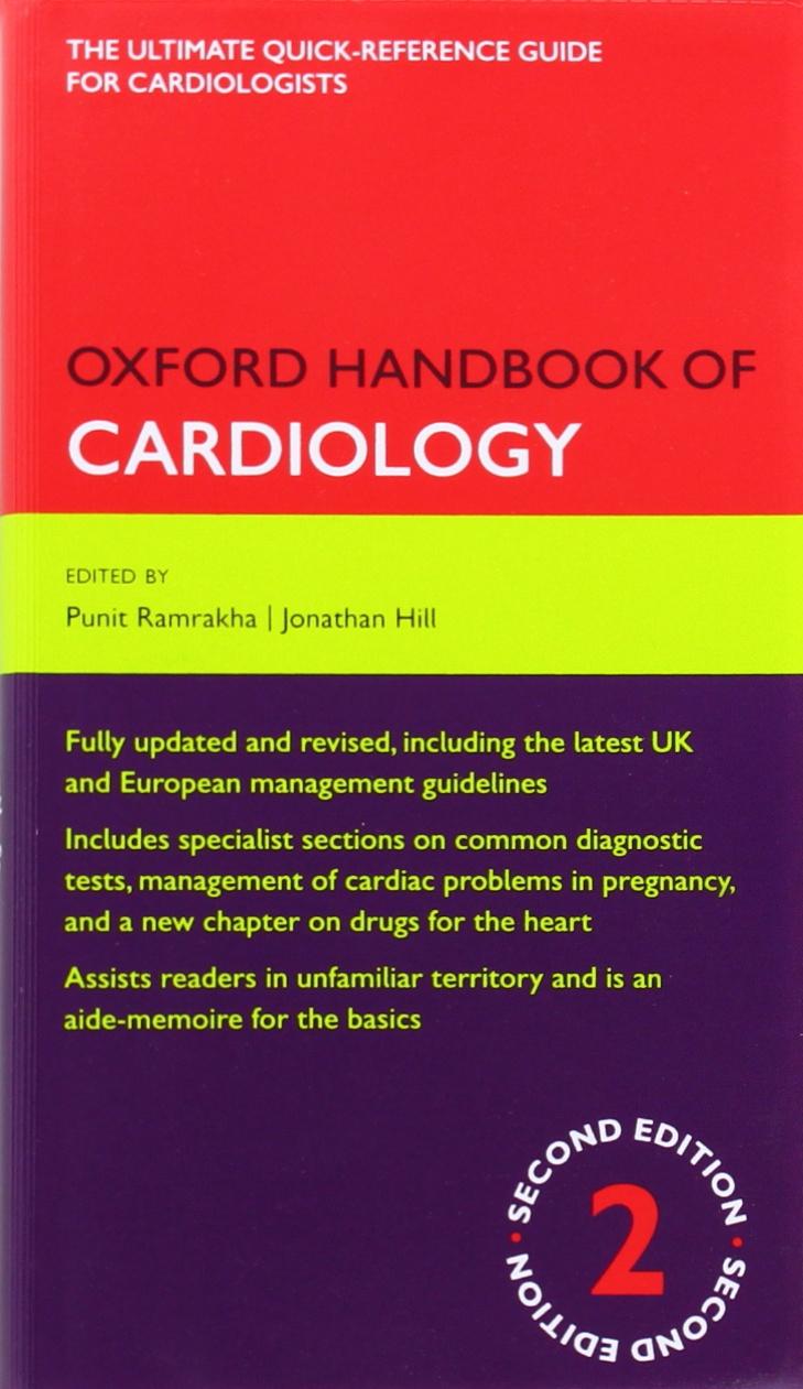 Kết quả hình ảnh cho Oxford Handbook of Cardiology