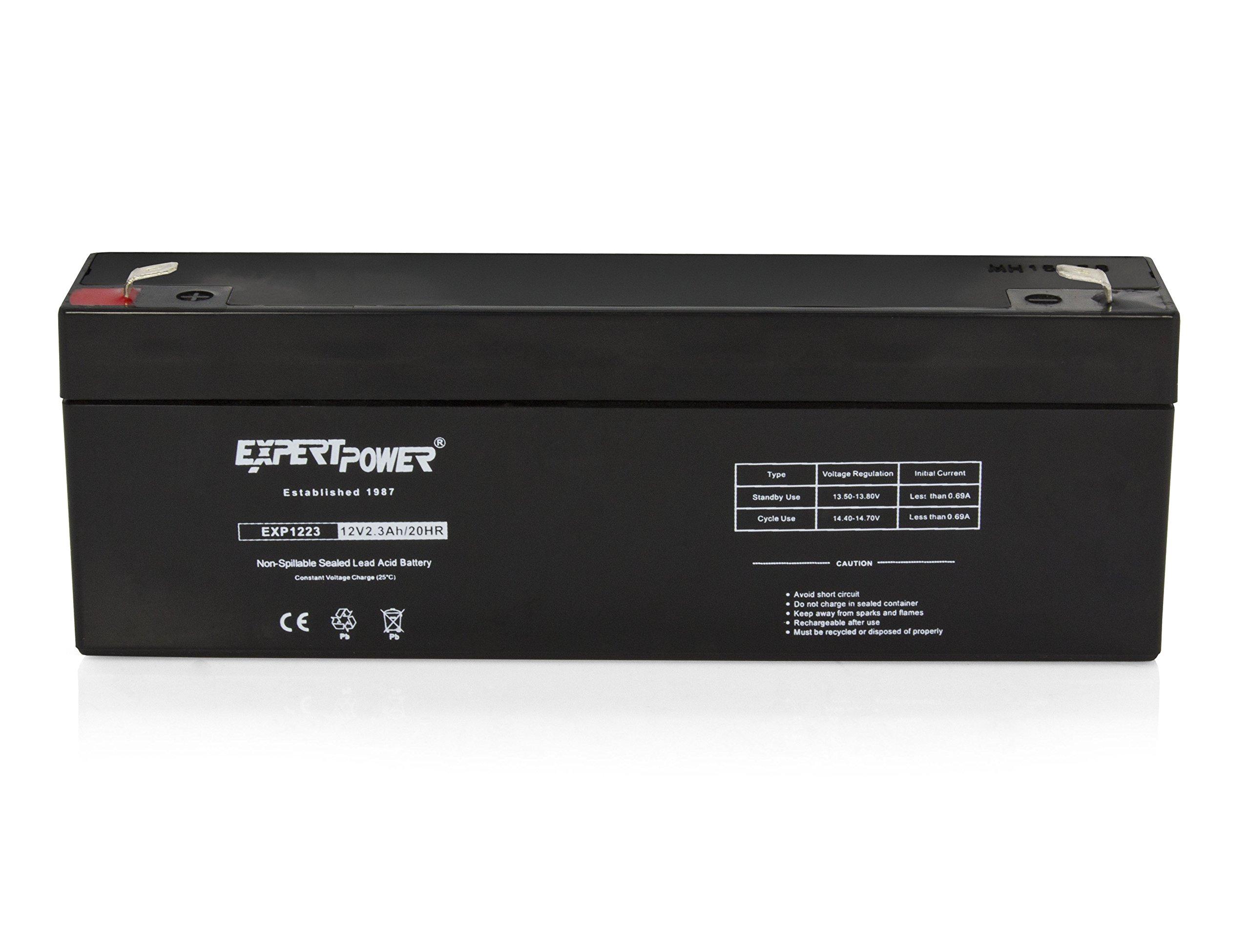 ExpertPower 12 Volt 2.3 Ah Rechargeable Battery // EXP1223