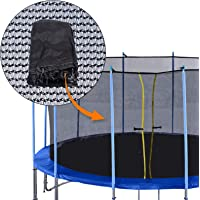 ExacMe Replacement 10'-16' Trampoline Netting Inner Trampoline Safety Net without Poles ENC10-16