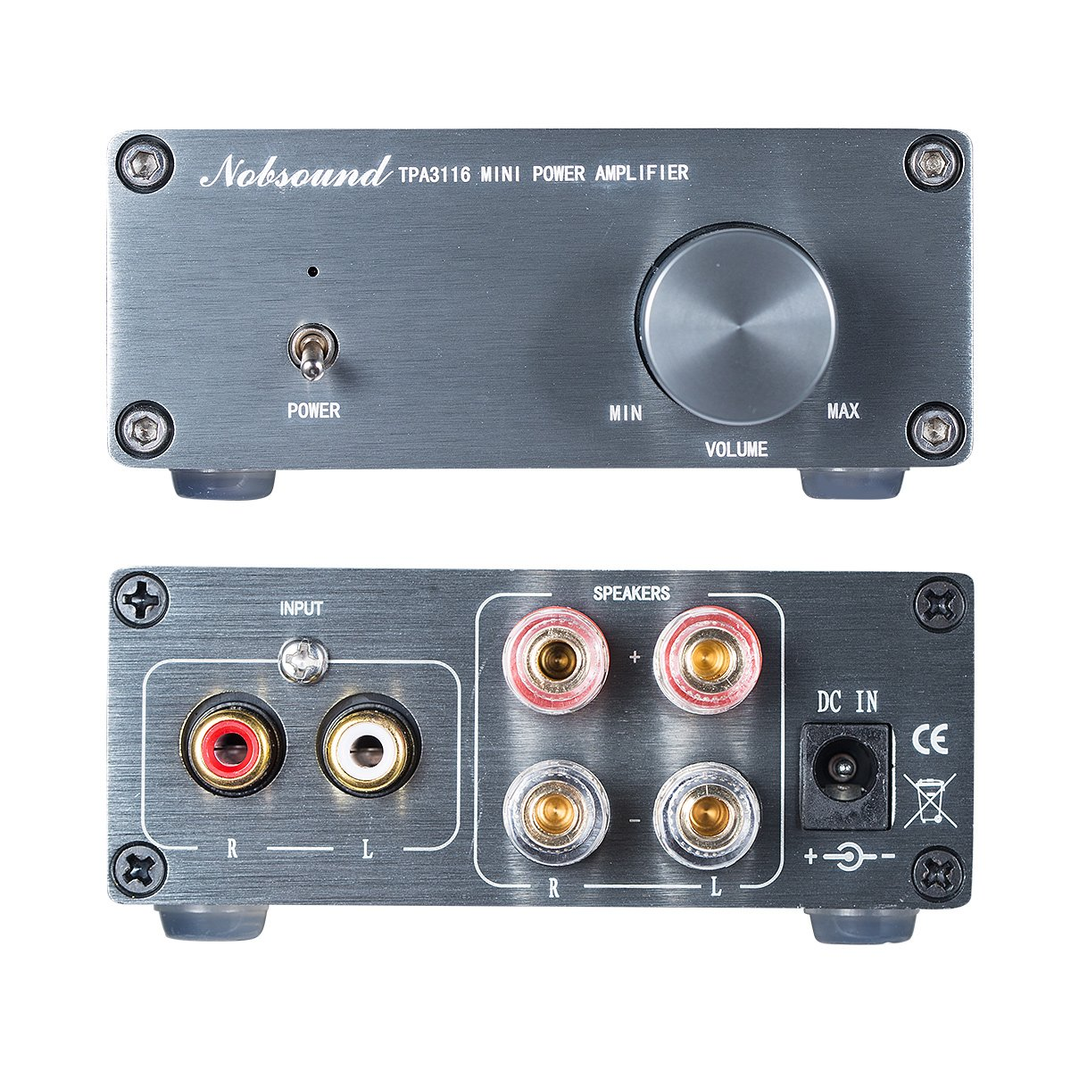Nobsound Mini Tpa3116 Audio Hifi 20 Channel Stereo 300 Watt Class D Amplifier Board Tas5613 300w Mono Power Amp Output Digital 50wx2 Diy Home Theater
