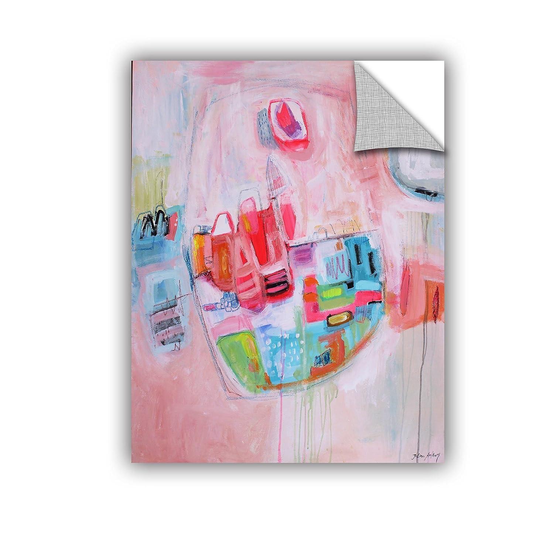 ArtWall Jolina Anthonys Little Girl Removable Wall Art Mural 14x 18