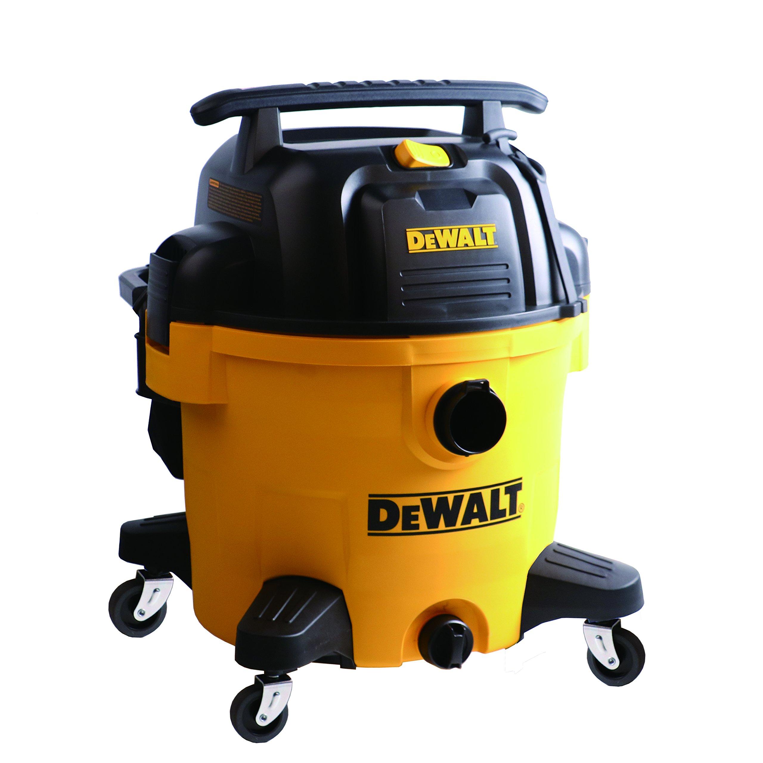 DEWALT DXV10P 10 Gallon Quiet Poly Wet Dry Vacuum Yellow by DEWALT (Image #1)