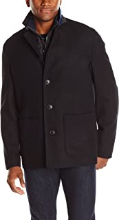Nick Graham Men's Triboro 3 in 1 Wool Jacket with Vest