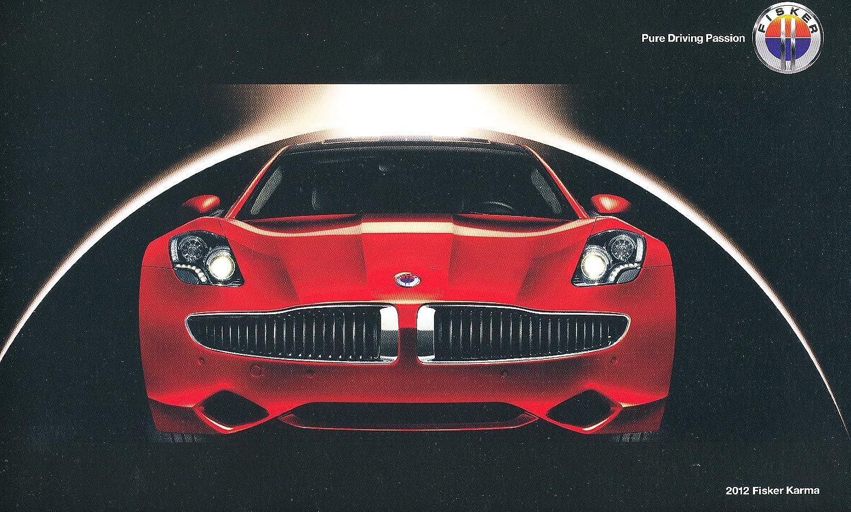 2012 Fisker Karma Hybrid Electric Car 20-page Original Sales Brochure Catalog