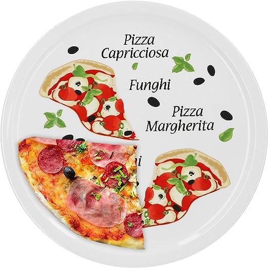 le gro/ßen hungerou une console. Napoli pizza grand mod/èle 30,5 cm assiettes en porcelaine avec un joli motif pour pizza//pasta