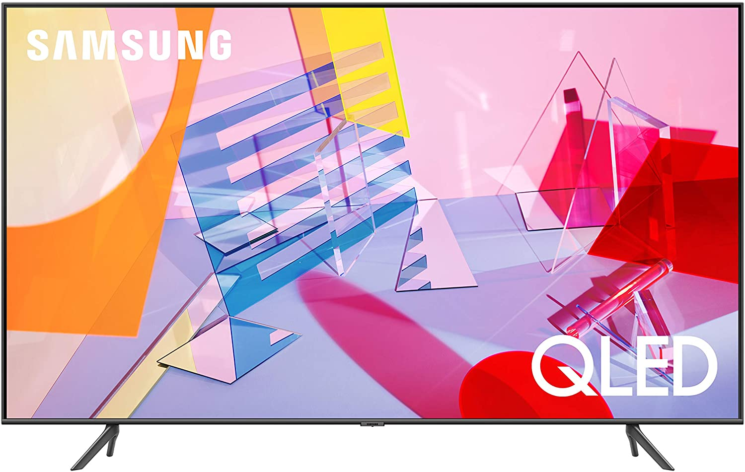 SAMSUNG Q60T Series 55-inch Class QLED Smart TV | 4K, UHD Dual LED Quantum HDR | Alexa Built-in | QN55Q60TAFXZA, 2020 Model
