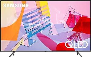 SAMSUNG 75-inch Class QLED Q60T Series - 4K UHD Dual LED Quantum HDR Smart TV with Alexa Built-in (QN75Q60TAFXZA, 2020 Model)