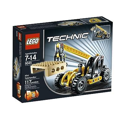 LEGO TECHNIC Telehandler 8045: Toys & Games