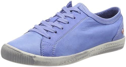 Softinos Isla Smooth, Zapatillas para Mujer, Azul (Navy), 37 EU