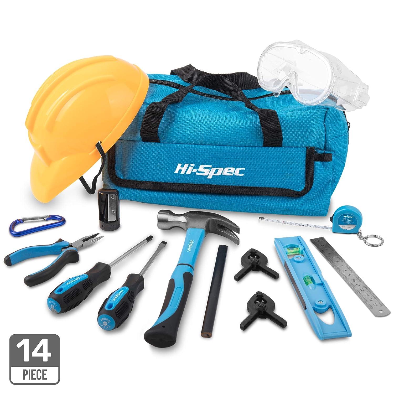 Echtes Werkzeug für Kinder - Echtes Kinderwerkzeug - Hi-Spec Kinder-Werkzeugset