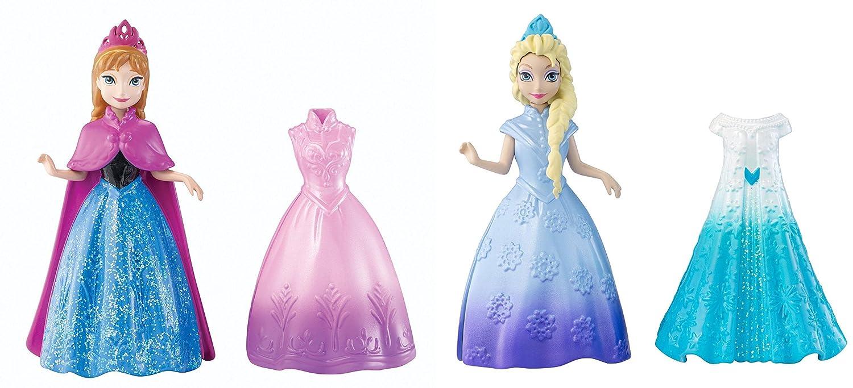 Kit de Elsa y Anna de Frozen con vestidos intercambiables