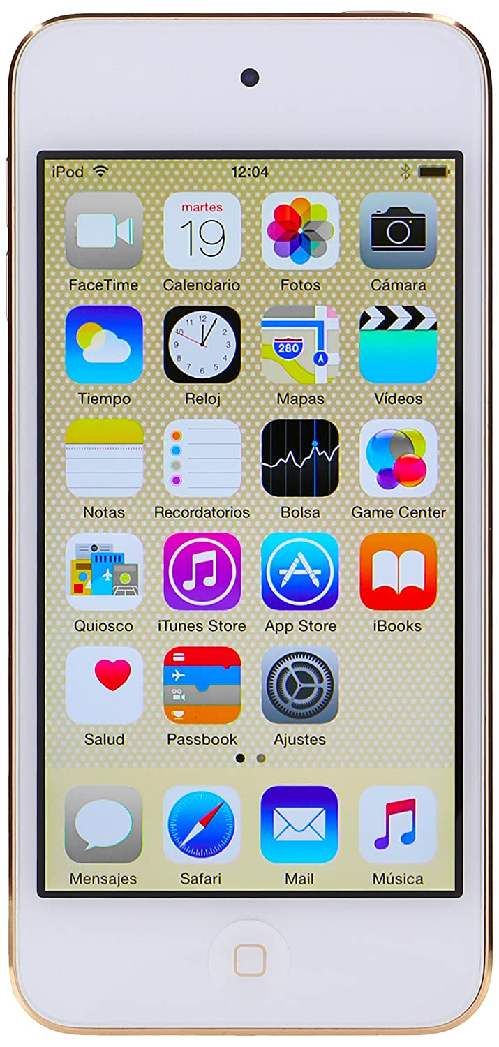 Apple Ipod Touch 128gb Gold 6th Generation Home Audio 6 16gb Theater