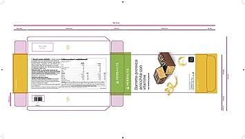 Barritas de proteínas sabor limón Herbalife caja de 14 unidades